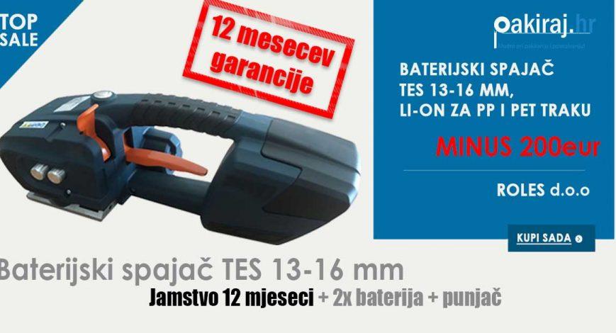 Baterijski spajač 13-16mm PET i PP traku Akcija cijena